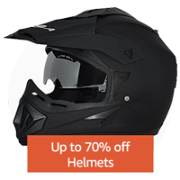 Up to 70% off: Helmets