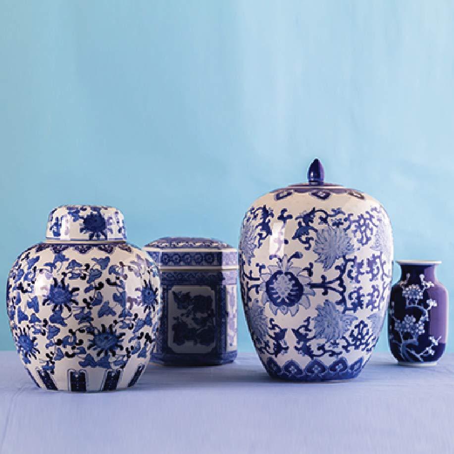Blue Art pottery