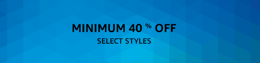 Select Styles: Min 40% off