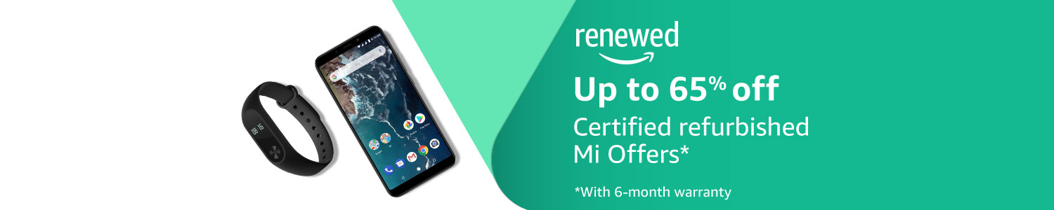 Certified Refurbished Mi Sale