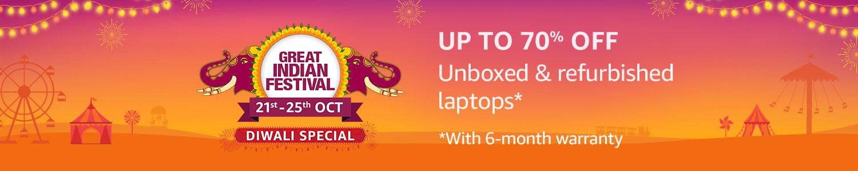 Unboxed & refurbished laptops
