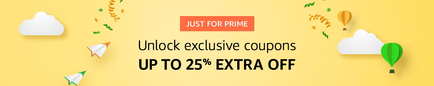 Unlock exclusive coupons for prime members