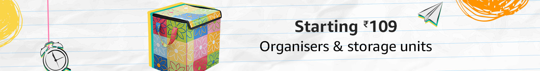Starting Rs.99 Organizers & storage units