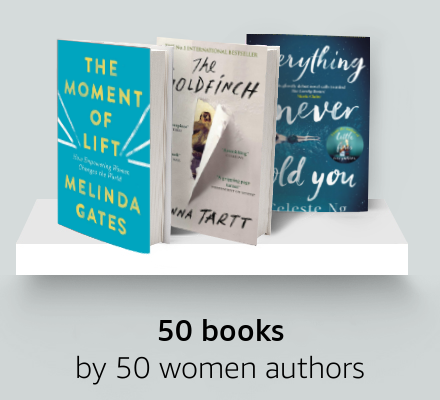 50 books by 50 women authors