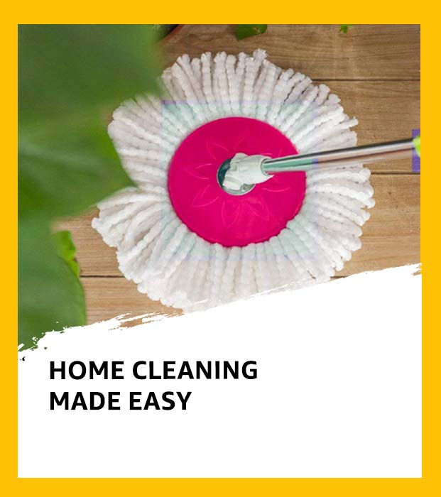Home cleaning made easy
