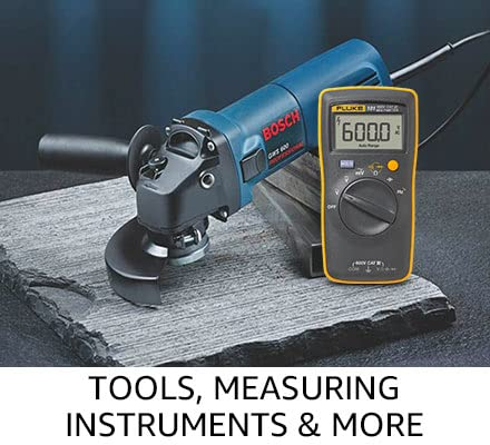 Tools, measuring instruments & more