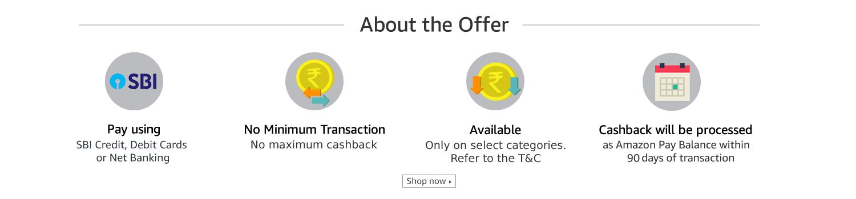 Get 5% Cashback