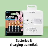 batteries & charging essentials