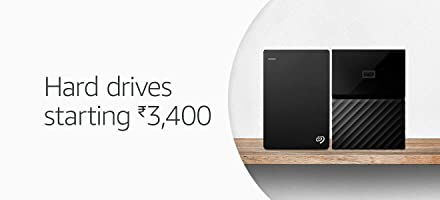 Hard drives starting Rs.3400
