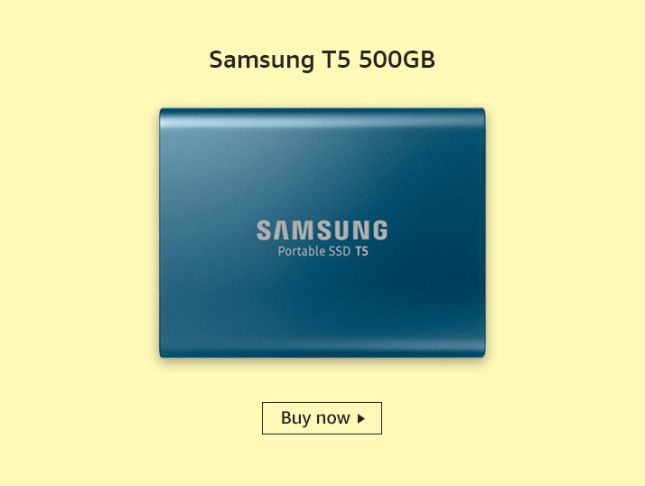 Samsung T% 500GB SSD | Comaparing SSD and HDD
