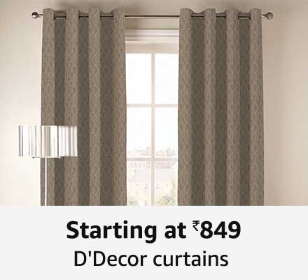 Starting at 849 D'decor curtains
