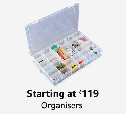 Starting at 119 Organisers