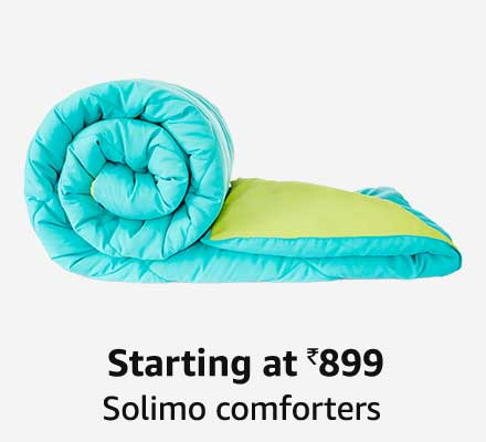 Starting at 899 Solimo comforters