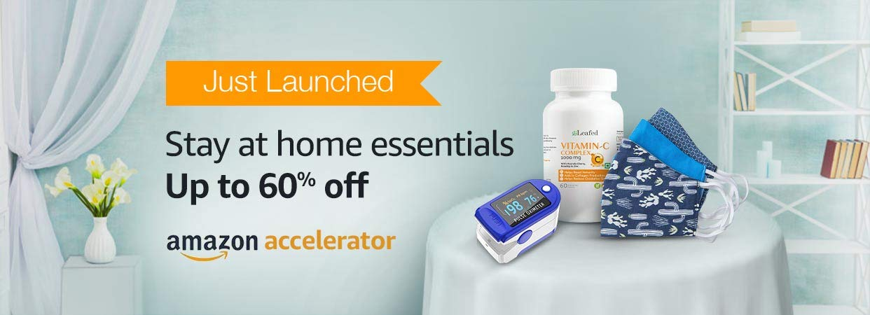 Stay at home essentials | Up to 60% off