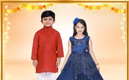 Kids' ethnic & casual wear
