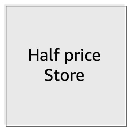 Half pricestore
