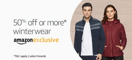 Winterwear for men and women available exclusively on Amazon | Min 50% off