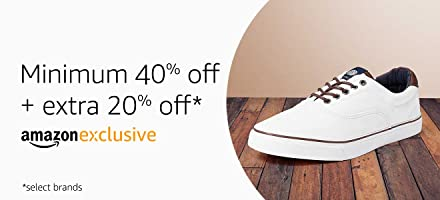 Minimum 40% + extra 20% off on select styles
