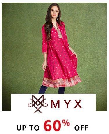 Myx upto 6% off