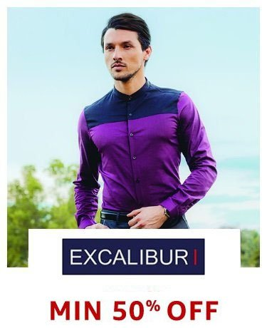 Excalibur: Min 50% off