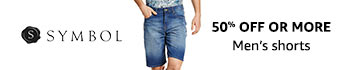 40% - 60% Off on Men's Shorts