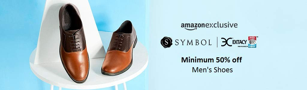 Min 50% off | Symbol, Extacy by Red Chief - An Amazon Exclusive