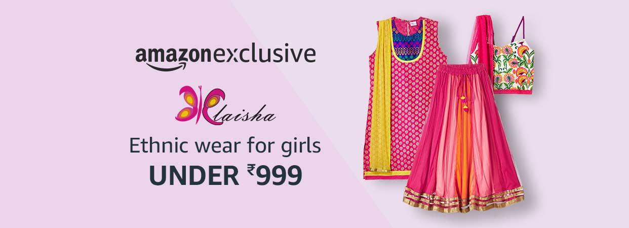 Elaisha - Ethnic Wear for Girls
