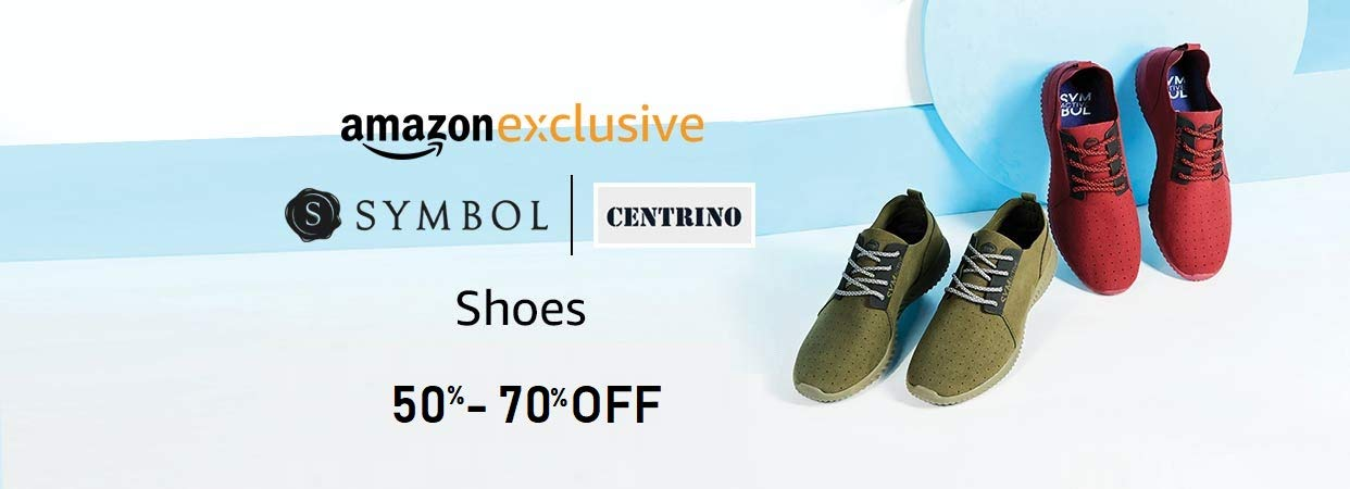 Amazon exclusive - Men's shoes- Min 50%