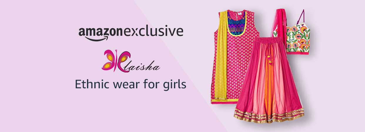 Elaisha - Ethnic Wear for Girls