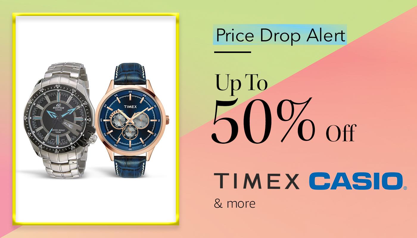 Price Drop alert- timex casio