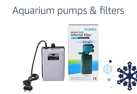 Aquarium pumps & filters