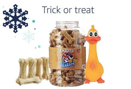 Dog treats & tricks