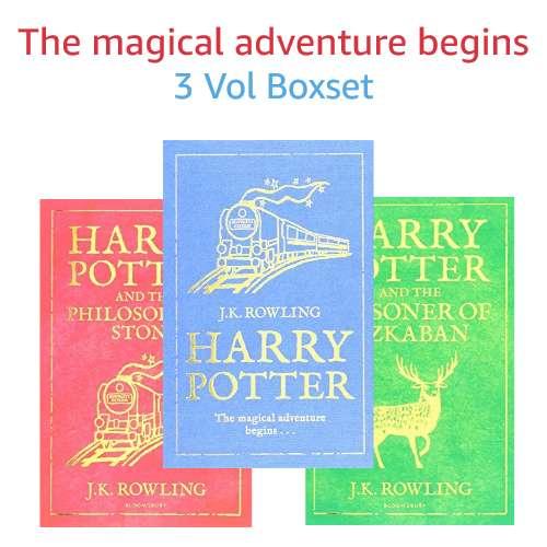 3 volume boxset