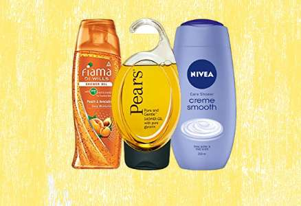body wash, lux, dove, body shop, nivea