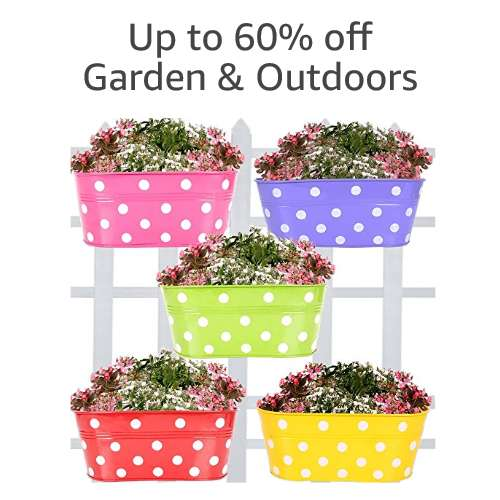 Up to 60% off Garden & outdoor