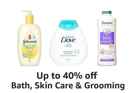 Up to 40% off Bath, Skin Care & Grooming