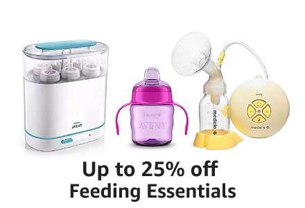 Up to 25% off Feeding Essentials