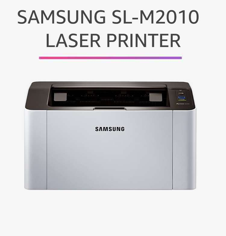 Samsung SL-M2010  Laser Printer