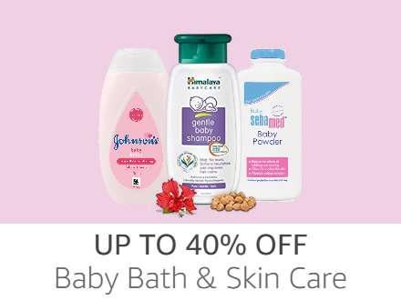 Baby Bath & Skin Care up to 40% off