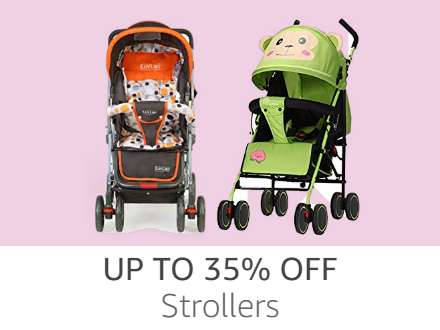 Strollers up to 35%