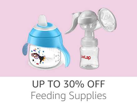 Feeding Supplies up to 30% off