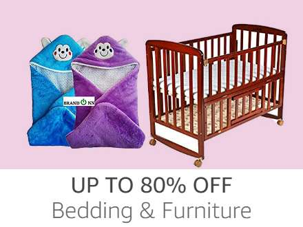 Bedding & Furniture up to 80%