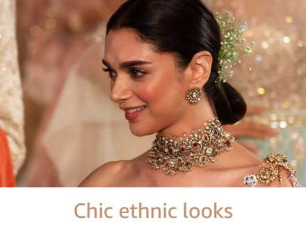 Chic ethnic look