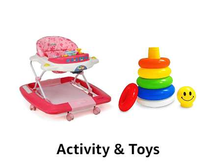 Activity & Toys up to 40% off