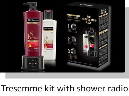 Tresemme with radio