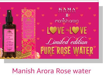 Manish Arora Rose water