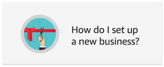 How do I set up a new business