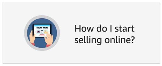 How do I start selling online