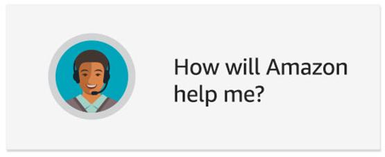How will Amazon help me