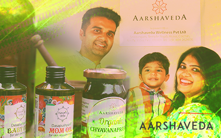 Aarshaveda with his family